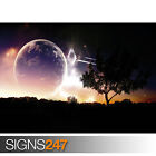 UNIVERSE VOYAGE (3044) Space Photo Picture Poster Print Art A0 A1 A2 A3 A4