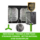 Hydroponics Professional Grow Tent 600D Silver Mylar Growing Indoor Bud Dark