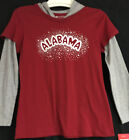 University of Alabama Girl's Long Sleeve Hooded Tee