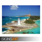 PARADISE ISLAND NASSAU (3277) Beach Poster - Photo Poster Print Art * All Sizes