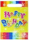 Girls Boys Happy Birthday Party Loot Favour Bags / Childrens Fillers Choose Qty