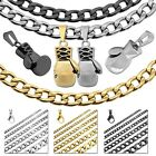 1 Curb Chain Necklace Steel + Pendant Boxing Glove Men Sport Gold Black Silver