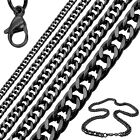 1Stainless Steel Chain Necklace or Bracelet Massive Chain Link Man Woman Jewelry