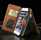 Multifunction Leather Wallet Card Bag Case Phone Cover for iPhone6 Plus/6S Plus