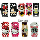 3D Cartoon Soft Silicone Phone Case Cover Skin for Samsung Galaxy S7/S7 edge