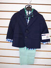 Infant & Toddler Boys IZOD $79.50 4pc Navy/Green 4PC. Suit Sizes 12Mth. & 18Mth.