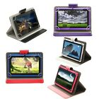 "iRULU 7"" 8G Quad Core Tablet PC A33 Google Android 4.4 Dual Cam1.5GHz +Case Gift"