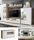 Living Room Furniture Set TV Unit Stand Cabinet Wall Cupboard Gloss Sideboard