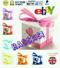 Wholesale BARGAIN PACK 100x Heart Gift/Wedding/Jewellery/Sweets/Favour Boxes
