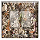 Light Switch Plate TREE CAMO CAMOUFLAGE  w/ Rocker Switch or Outlet