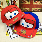 Baby Kids Toddler Boys Girls Student Mcqueen Sport Snapback Sun Hat Baseball Cap