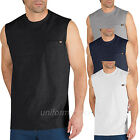 Dickies Sleeveless T shirt  Mens Pocket Tee shirt WS452 Cotton Solid Plain color image