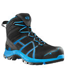 Haix,  HAIX Black Eagle Safety 40 S3 Mid black/blue , Arbeitsschuh, GORE-TEX®,