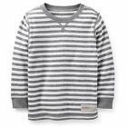 Brand New Carter's Boys' Long Sleeve Striped Thermal Knit Tee Top