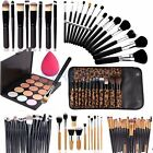 15 Colors Cosmetic Contour Face Cream Makeup Concealer Palette +Brush Sponge set