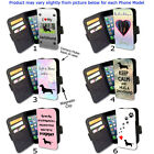 For Phone Flip Wallet Card Case Dog Puppy Dachshund Lovers Artistic 24