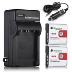 Type G Battery + Charger for Sony NP-BG1 DSC-H20 H9 H7 T100 W Series DSLR Camera