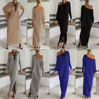 Women's Casual Summer Long Sleeve Evening Party Cocktail Maxi Long Dress Unique