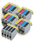 4 Sets + 4 extra Black Compatible (non-Epson) Ink Cartridges to replace T0715