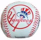 "New MLB 3"" Mini Vinyl Baseball Toy Soft Squeeze Stress Ball Choose Your Team"
