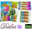 Candy Watches & Candy Necklaces wrapped party bag fillers favours Retro sweets