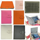 New Genuine Leather Style Smart Book Folio Flip Case Stand for ipad 2 3 4