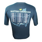 2016 Official Masters Navy Blue Champions T-shirt Tee Golf Shirt Size M