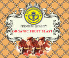 Organic Fruit blast Gourmet Fruit loose Leaf Fresh Tea 7oz + Free Samples