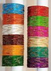 Wholesale Bulk Lot of Gorgeous 144 Indian Metal Bangles Bollywood Belly Dance