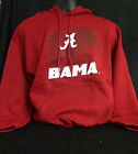 University of Alabama Crimson Bama Hoodie with Elephant and Script A