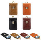 Cowboy PU Leather Waist Pack Belt Loop Clip Hook Pouch Bag Case For Smartphone