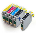 Set + Extra Black Compatible (non-Epson) Ink Cartridges to replace T0715