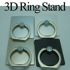 Universal Rotating 3D Finger Ring Stand Mount Holder for iPhone iPad Galaxy HTC