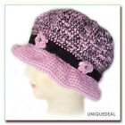 New Fashion WOMEN CROCHET CHEMO WINTER WARM HAT BEANIE / PINK Q115
