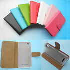 For Hisense smartphone-Wallet Folder Stand Flip PU Leather Case Cover 4G LTE