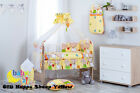 13-PCS NURSERY BEDDING SET WITH BABY COT BEAR MOON WITH HIGH QUALITY MATTRESS