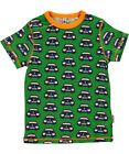 BNWT Boys Maxomorra Retro Car Short Sleeved T-Shirt NEW Organic Cotton Top