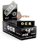 OCB Premium Black Premium Standard Smoking Cigarette Rolling Papers | Multi Buy
