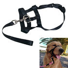 1pcs Dogs Puppy Adjustable Head Halter Buckle Muzzle Headcollar Training Barking
