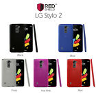 LG Stylo 2 Case, REDshield Slim&Flexible Anti-shock Silicone Protective TPU Case