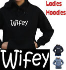 Wifey wife hen's night kitchen tea Hoodie new Ladies thick Fleecy Funny T-Shirts