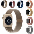 2016 Luxury Milanese Magnetic Loop Wrist Watch Band Strap For Apple Watch iWatch