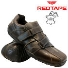 MENS RED TAPE LEATHER CASUAL SPORT WALKING RUNNING DRIVING TRAINERS SHOES SIZE