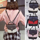 Cute Women's Faux Leather Small Mini Backpack Rucksack Shoulder bag Purse