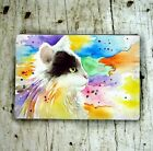 Cosmetics bag Pouch Purse Accessory Cat 605 art painting by L.Dumas