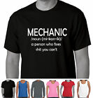 Mechanic tradie garage  Men's Funny T-Shirts Aussie store cool Dad car classic