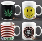 Cannabis Weed Inspired 15oz Coffee Mugs | Novelty Gift Funny Marijuana smoke Cup
