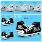 Hot! NEW Japan Anime K Cosplay Casual Sneakers Canvas Shoes Hight Unisex