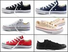 New Men's Canvas ALL STARs Flats Chuck Taylor Low Top shoes Loafers Sneakers