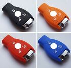 Silicone key covers case For Mercedes-Benz W203 W210 W211 AMG W204 C E S CLS CLK